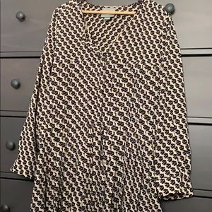 Maeve by Anthropologie Pleated Tunic